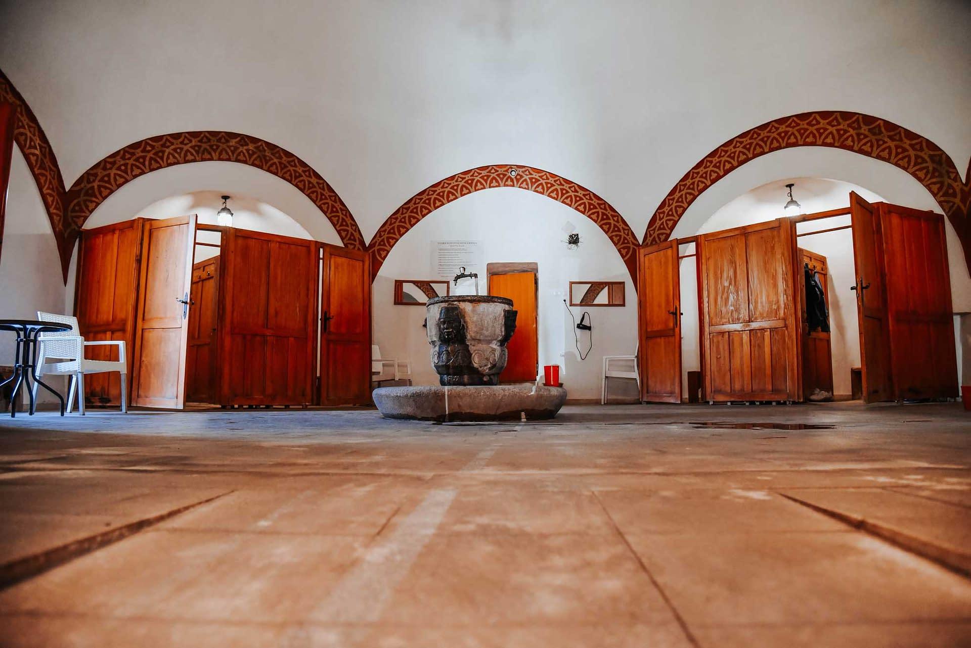 Stari hamam u Novopazarskoj banji