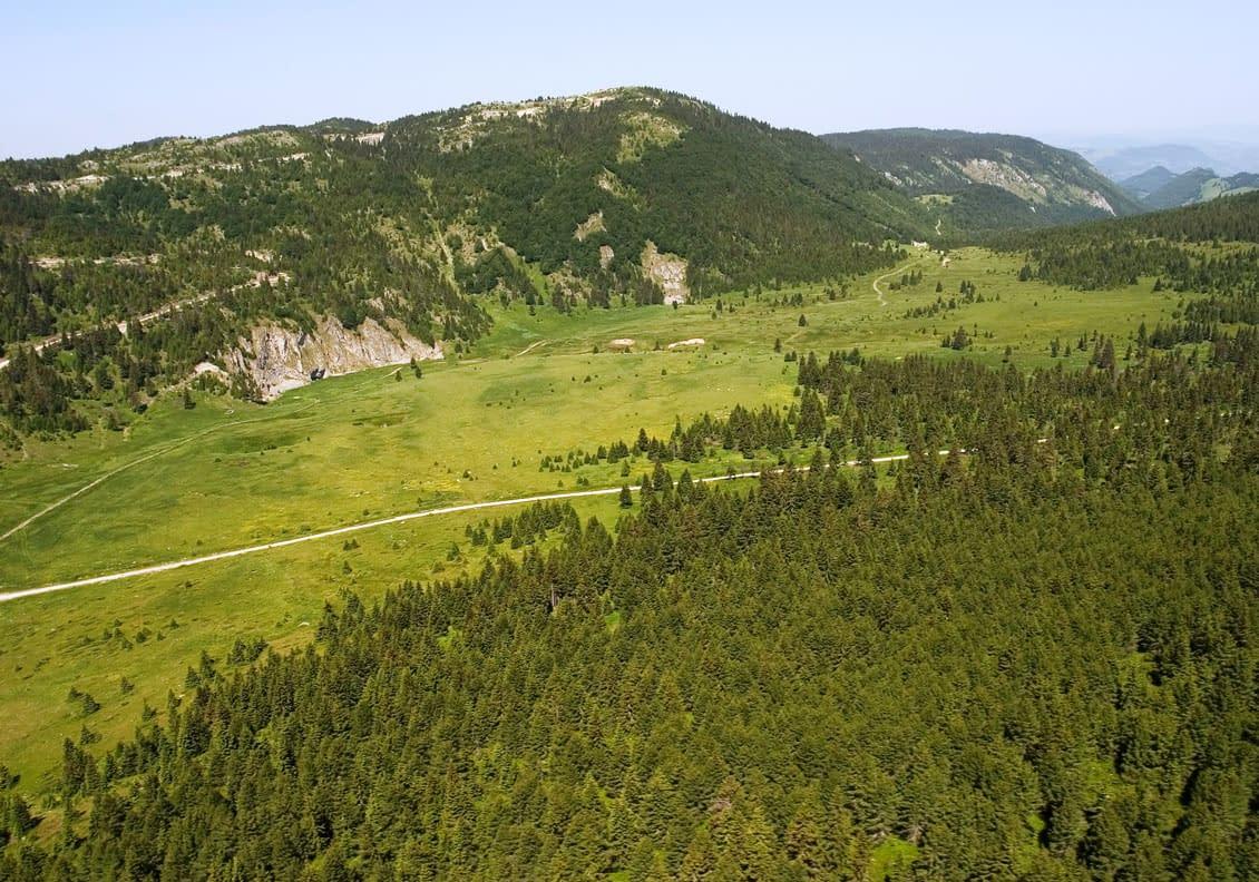 Planinski masiv Mokra Gora